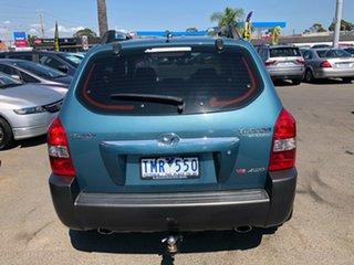 2005 Hyundai Tucson Elite Blue 4 Speed Auto Selectronic Wagon