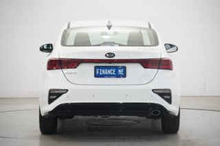 2019 Kia Cerato BD MY20 S White 6 Speed Sports Automatic Sedan