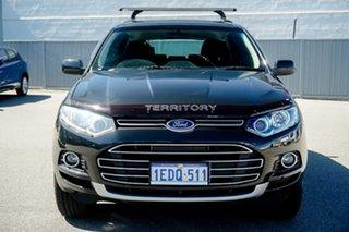 2012 Ford Territory SZ TS Seq Sport Shift AWD Grey 6 Speed Sports Automatic Wagon