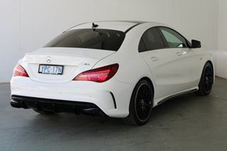 2017 Mercedes-Benz CLA-Class C117 808+058MY CLA45 AMG SPEEDSHIFT DCT 4MATIC White 7 Speed