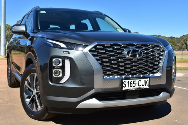Demo Hyundai Palisade LX2.V1 MY21 AWD St Marys, 2020 Hyundai Palisade LX2.V1 MY21 AWD Rain Forest 8 Speed Sports Automatic Wagon