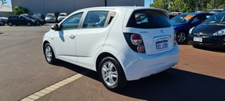 2014 Holden Barina TM MY14 CD White 6 Speed Automatic Hatchback