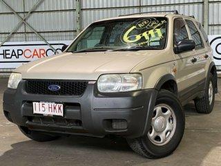 2003 Ford Escape ZA XLS Gold 4 Speed Automatic SUV.
