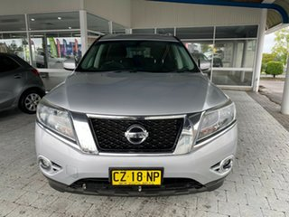 2013 Nissan Pathfinder ST Silver Constant Variable Wagon