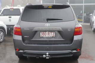 2009 Toyota Kluger GSU40R KX-S 2WD Grey 5 Speed Sports Automatic Wagon
