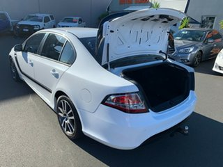 2013 Ford Falcon FG MkII XR6 Turbo White 6 Speed Sports Automatic Sedan