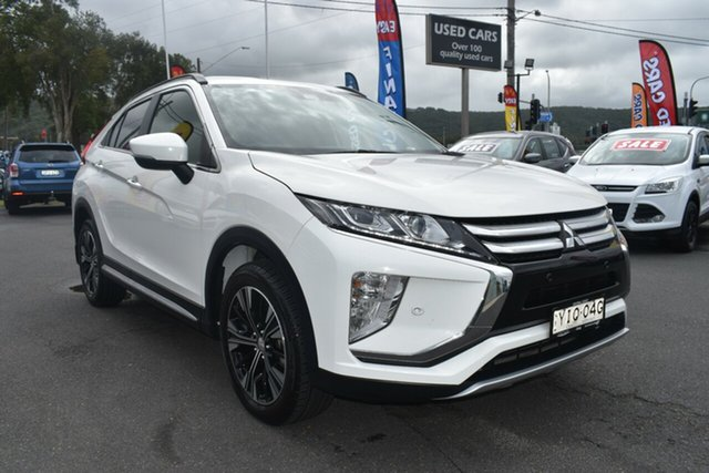 Used Mitsubishi Eclipse Cross YA MY18 LS 2WD Gosford, 2017 Mitsubishi Eclipse Cross YA MY18 LS 2WD White 8 Speed Constant Variable Wagon