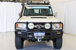 2011 Toyota Landcruiser VDJ76R MY10 GXL White 5 Speed Manual Wagon