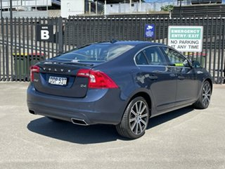 2014 Volvo S60 F Series MY14 D4 Geartronic Luxury Blue 6 Speed Sports Automatic Sedan