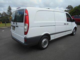 2013 Mercedes-Benz Vito MY11 113CDI LWB White 5 Speed Automatic Van