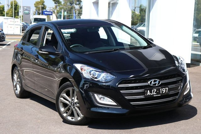Used Hyundai i30 Port Melbourne, 2016 Hyundai i30 SR Black 6 Speed Automatic Hatchback