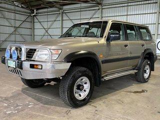 1999 Nissan Patrol GU ST Gold 4 Speed Automatic Wagon.