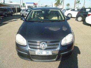 2007 Volkswagen Jetta 1KM MY07 FSI Tiptronic Blue 6 Speed Sports Automatic Sedan.