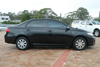 2011 Toyota Corolla ZRE152R MY11 Ascent Black 4 Speed Automatic Sedan