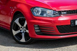 2015 Volkswagen Golf VII MY15 GTI DSG Red 6 Speed Sports Automatic Dual Clutch Hatchback.
