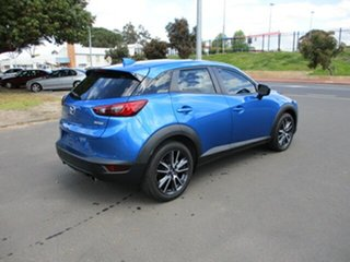 2017 Mazda CX-3 DK2W7A sTouring SKYACTIV-Drive FWD Blue 6 Speed Automatic Wagon