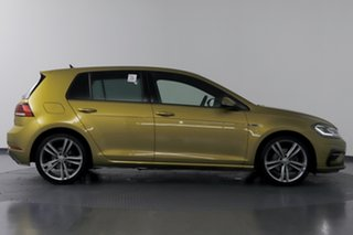 2017 Volkswagen Golf AU MY17 110 TSI Highline Tumeric Yellow 7 Speed Auto Direct Shift Hatchback
