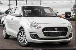 2021 Suzuki Swift AZ Series II GL Navigator Pure White Pearl 5 Speed Manual Hatchback.