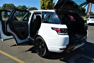 2014 Land Rover Range Rover Sport L494 MY15 HSE Dynamic White 8 Speed Sports Automatic Wagon