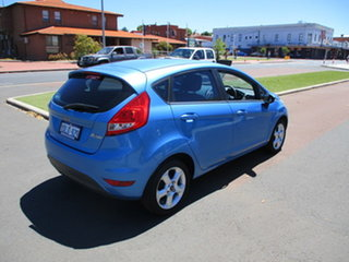 2009 Ford Fiesta WS LX Blue 5 Speed Manual Hatchback