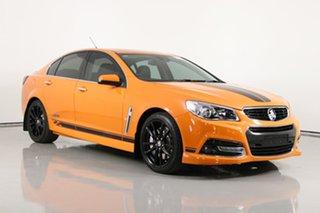 2014 Holden Commodore VF SS-V Redline Orange 6 Speed Automatic Sedan.