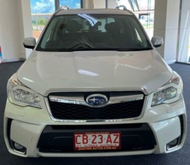 2013 Subaru Forester S4 MY14 XT Lineartronic AWD White 8 Speed Constant Variable Wagon