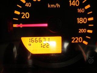 2013 Nissan Navara D40 S8 RX Winter White 6 Speed Manual Utility