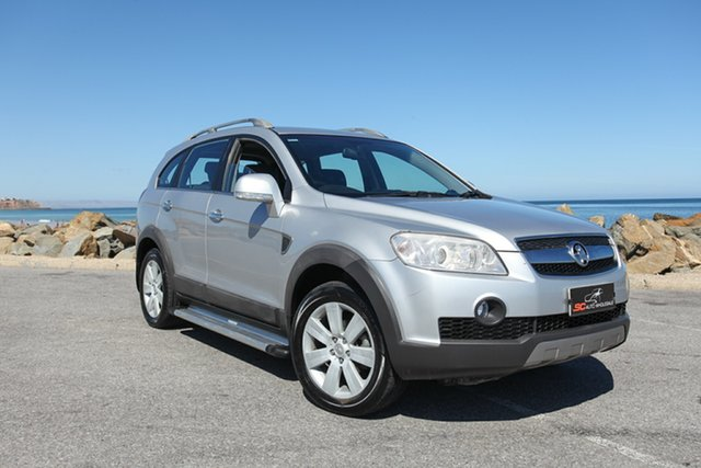Used Holden Captiva CG MY09 LX AWD Lonsdale, 2009 Holden Captiva CG MY09 LX AWD Silver 5 Speed Sports Automatic Wagon