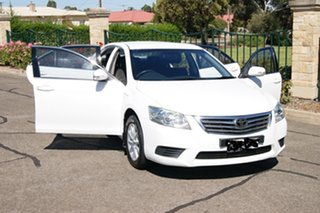 2011 Toyota Aurion GSV40R 09 Upgrade AT-X White 6 Speed Auto Sequential Sedan