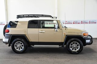 2012 Toyota FJ Cruiser GSJ15R Sandstorm 5 Speed Automatic Wagon