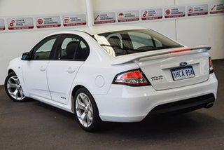 2012 Ford Falcon FG MK2 XR6T White 6 Speed Auto Seq Sportshift Sedan.