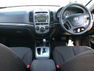 2010 Hyundai Santa Fe CM MY10 SLX CRDi (4x4) White 6 Speed Automatic Wagon