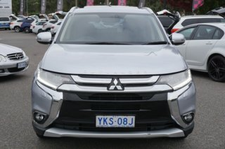 2015 Mitsubishi Outlander ZK MY16 Exceed 4WD Silver 6 Speed Sports Automatic Wagon.