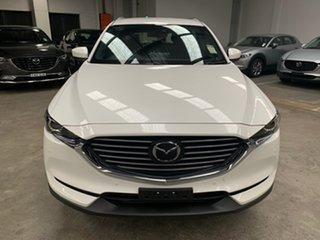 2020 Mazda CX-8 KG4W2A Touring SKYACTIV-Drive i-ACTIV AWD Snowflake White 6 Speed Sports Automatic