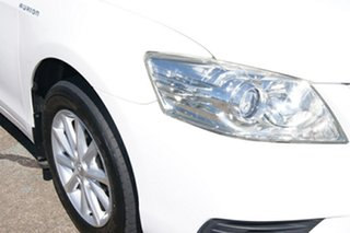 2011 Toyota Aurion GSV40R 09 Upgrade AT-X White 6 Speed Auto Sequential Sedan.