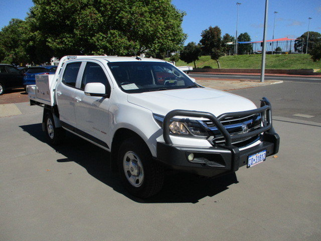 Used Holden Colorado RG MY17 LS Katanning, 2017 Holden Colorado RG MY17 LS White 6 Speed Automatic Dual Cab