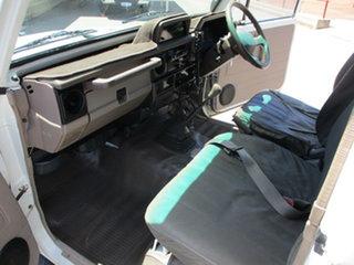 1995 Toyota Landcruiser 75 Series White 5 Speed Manual Spacecab