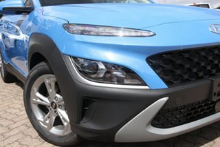2021 Hyundai Kona Os.v4 MY21 Active 2WD Surfy Blue 8 Speed Constant Variable Wagon.