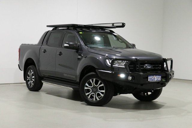 Used Ford Ranger PX MkIII MY19.75 Wildtrak 3.2 (4x4) Bentley, 2019 Ford Ranger PX MkIII MY19.75 Wildtrak 3.2 (4x4) Grey 6 Speed Automatic Double Cab Pick Up