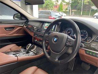 2014 BMW 5 Series F10 LCI 535i Luxury Line Grey Sports Automatic Sedan