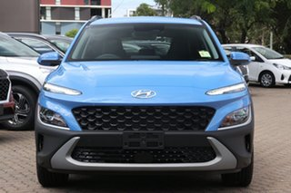 2021 Hyundai Kona Os.v4 MY21 Active (FWD) Atlas White Continuous Variable Wagon