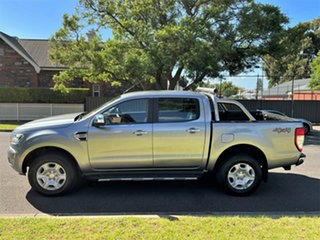 2015 Ford Ranger PX MkII XLT Double Cab Silver 6 Speed Sports Automatic Utility