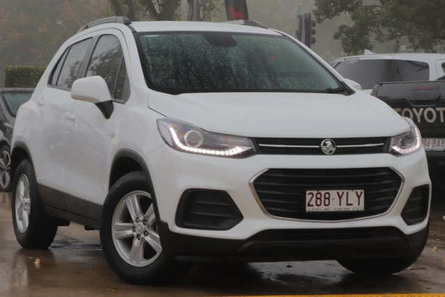 Used Holden Trax TJ MY17 LS Toowoomba, 2017 Holden Trax TJ MY17 LS White 6 Speed Automatic Wagon