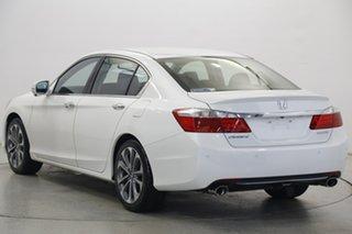 2014 Honda Accord 9th Gen MY14 V6L White 6 Speed Sports Automatic Sedan