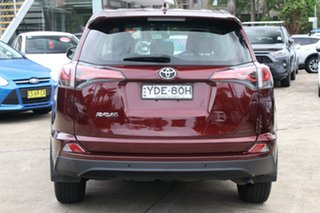 2016 Toyota RAV4 ZSA42R MY16 GX (2WD) Deep Red Continuous Variable Wagon