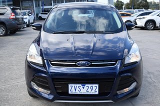 2013 Ford Kuga TF Ambiente 2WD Blue 6 Speed Manual Wagon.