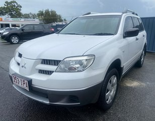 2005 Mitsubishi Outlander ZF LS White 4 Speed Sports Automatic Wagon