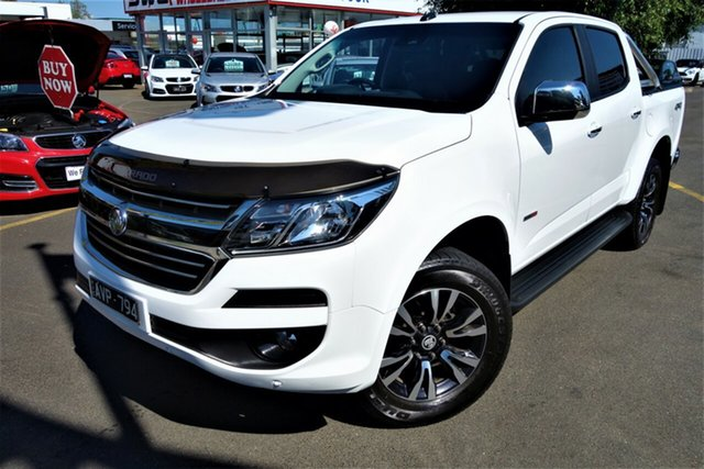 Used Holden Colorado RG MY19 LTZ Pickup Crew Cab Seaford, 2019 Holden Colorado RG MY19 LTZ Pickup Crew Cab White 6 Speed Sports Automatic Utility