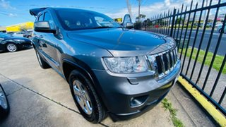 2012 Jeep Grand Cherokee WK MY2012 Laredo Grey 5 Speed Sports Automatic Wagon.
