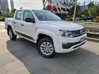 2018 Volkswagen Amarok 2H MY18 TDI550 4MOTION Perm Core White 8 Speed Automatic Utility.